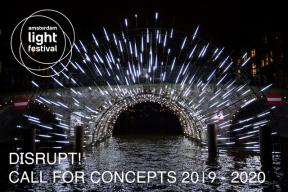 Call for Concepts NOW OPEN: Amsterdam Light Festival