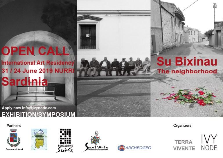 2019 SARDINIA - Symposium - Art Festival - Residency - Exhibition