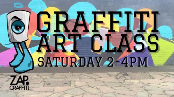 ZAP Graffiti Art Class