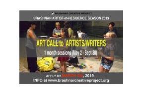 Brashnar Creative Project: Artist-in-Residence Season 2019
