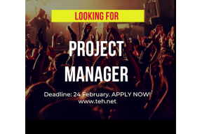 PROJECT MANAGER NEEDED