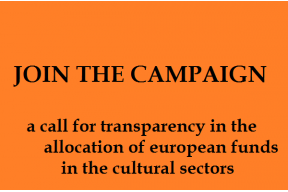 A call for transparency and solidarity in the allocation of EU funds
