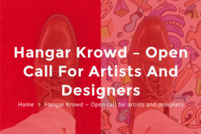 Open Call for Artists and Designers