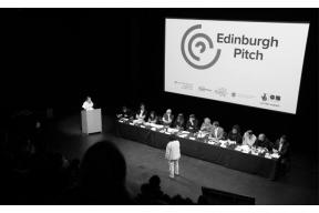 The Edinburgh Pitch is Now Open for Applications