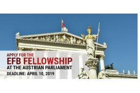 Apply for the EFB Fellowship at the Austrian Parliament 2019-2020