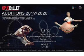 OPUS BALLET CENTRE AUDITION IN FARO
