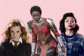 What are the benefits of watching strong women in film?