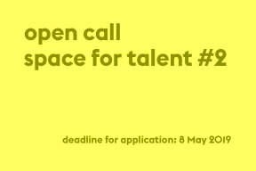 Open Call Space for Talent #2