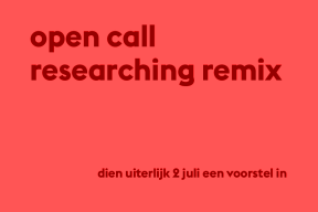 Open Call Researching Remix