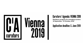 CURATORS' AGENDA: VIENNA 2019 – OPEN CALL