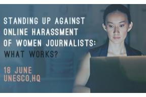Standing Up against online harassment of women journalists