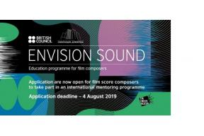 Call for Applications for the Envision Sound 2019-20