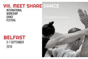 MeetShareDance international workshop dance festival Belfast 2019