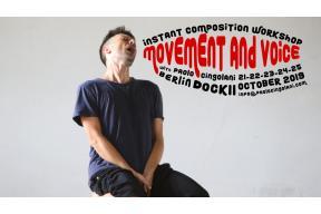 Instant Composition Workshop – Movement And Voice