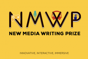 New Media Writing Prize 2019