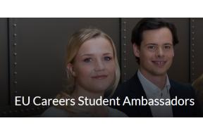 How can I be EU Careers Student Ambassadors?
