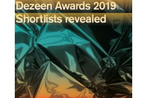 Dezeen Awards 2019. Shortlists revealed