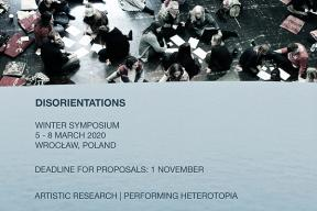 Disorientations - Artistic Research | Performing Heterotopia