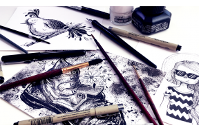 Pen and Ink Illustration: The Basics for Creating Magical Drawings