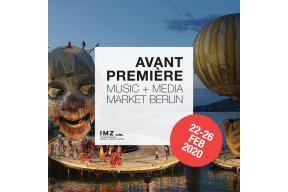 Avant Première Music + Media Market Berlin 2020