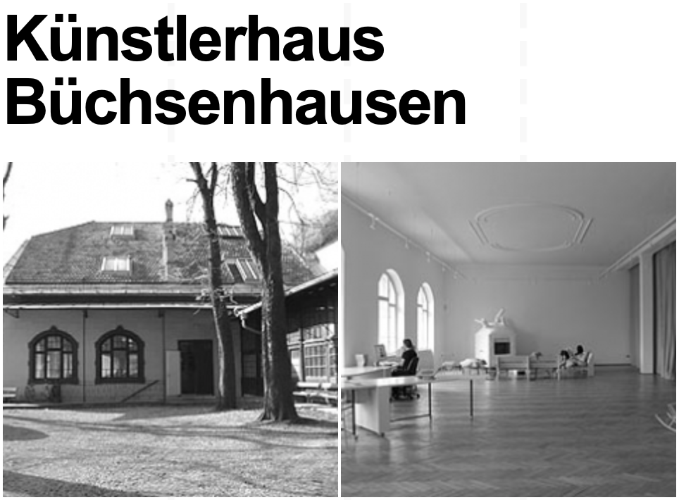 Fellowships for Art and Theory at Künstlerhaus Büchsenhausen