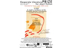 Open for Submissions:Desperate Literature Prize For Short Fiction 2020