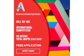 Call for art: awesome art prizes International competition