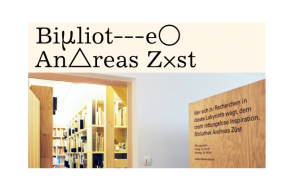 The Bibliothek Andreas Züst: The Studio Residency Stipend program