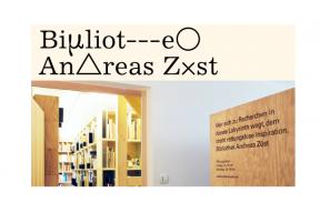 The Bibliothek Andreas Züst: The Studio Residency Stipend program