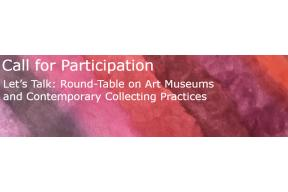 Call for papers: Art museums and contemporary collecting practices