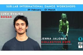 SUB.LAB Workshops with Luka Svajda & Jenna Jalonen