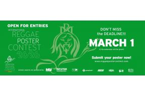 """Design competition: """"Reggae Music: Messages from Jamaica to the World"""""""