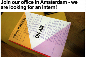 DutchCulture is looking for an intern: last two weeks to apply!