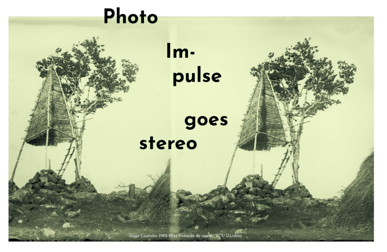 Conference on Stereo Photography   ICNOVA NOVA FCSH