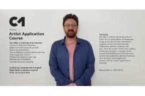 Artist application course