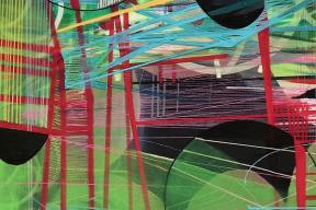 Notes From a Digital Sea - Paintings by Trudi van der Elsen