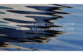 Open call for Music Diaries Forum