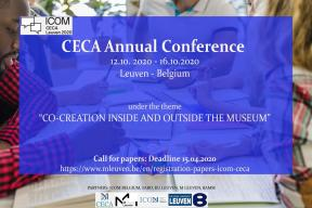 Call for papers: CECA annual conference 2020