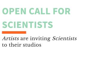 STUDIOTOPIA: Artists are inviting Scientists to their studios
