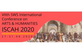 7th International Scientific Conference on ARTS and HUMANITIES  2020