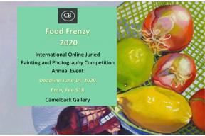Food Frenzy; International Online Juried Painting Competition