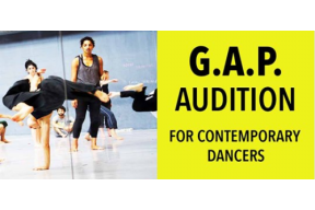 G.A.P. Audition for contemporary dancers