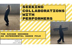 Call for Participants New Experimental Dance Film: The Savage Seconds