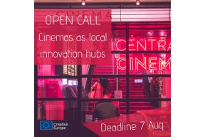 Preparatory Action - Cinemas as local innovation hubs