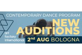 Art Factory International Live Audition 2 August in Bologna