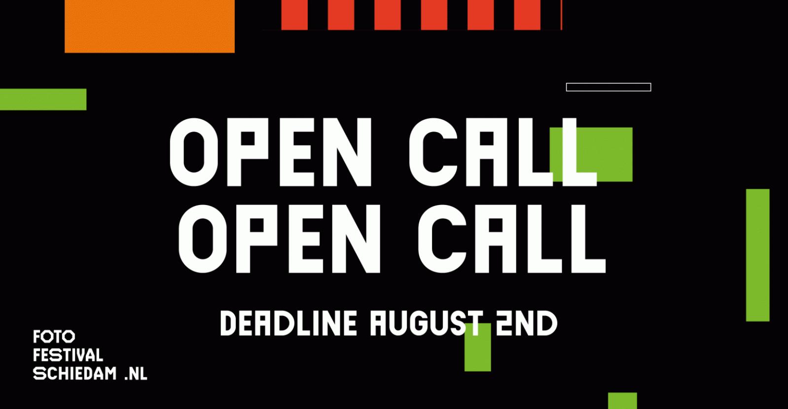 Open Call: Fotofestival Schiedam 2020