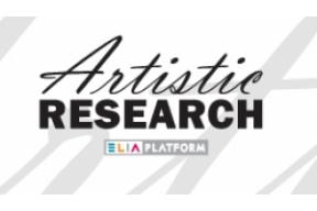 Join the Artistic Research Platform (Online) Meeting