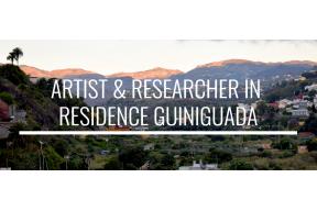ARTIST & RESEARCHER IN RESIDENCE GUINIGUADA