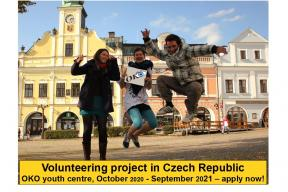 Volunteering in OKO youth centre Czechia