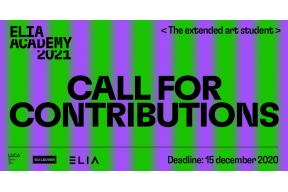 CALL FOR CONTRIBUTIONS  The extended art student